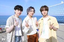Suga, Jungkook and Jin Butter Shoot