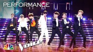 """BTS Performs """"Boy with Luv"""" - The Voice Live Finale 2019"""