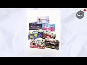 -BANGTAN BOMB- Decorating Our Photo Cards - BTS (방탄소년단)