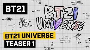 BT21 BT21 UNIVERSE - TEASER 1
