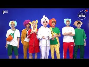 -BANGTAN BOMB- Butter in 노래방 Behind the Scenes - BTS (방탄소년단)