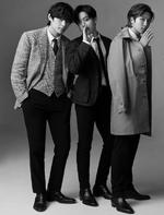V, Jungkook and RM GQ Japan