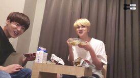 Jin eating