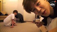 BANGTAN BOMB Jin and Jimin's Push-up time 2 - BTS (방탄소년단)