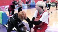 BANGTAN BOMB Shooting guard SUGA with cheerleader 2 Jimin - BTS (방탄소년단)