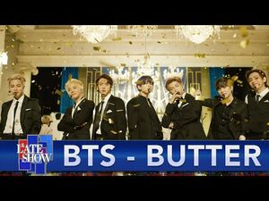 """BTS """"Butter"""" - The Late Show with Stephen Colbert"""