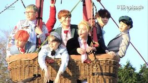 EPISODE BTS (방탄소년단) '화양연화 Young Forever' Jacket Photo Shooting