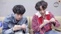 BANGTAN BOMB Jin & j-hope Play with Earrings - BTS (방탄소년단)