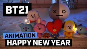 BT21 Good bye 2017