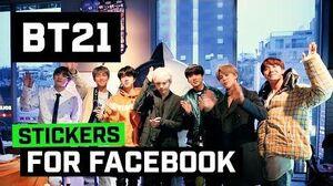 BT21 Stickers on Facebook! -Teaser
