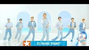 BTS (방탄소년단) 'Dynamite' @ TODAY Citi Music Series