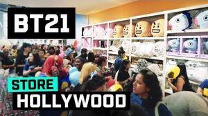 BT21 BT21 in Hollywood!