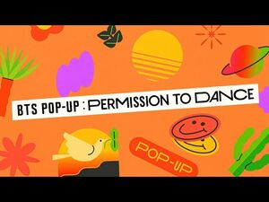 BTS (방탄소년단) BTS POP-UP - PERMISSION TO DANCE Official Trailer