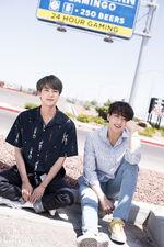 Jungkook and Jin BTS x Dispatch June 2019 (2)
