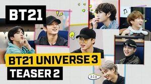 BT21 BT21 UNIVERSE 3 TEASER 2