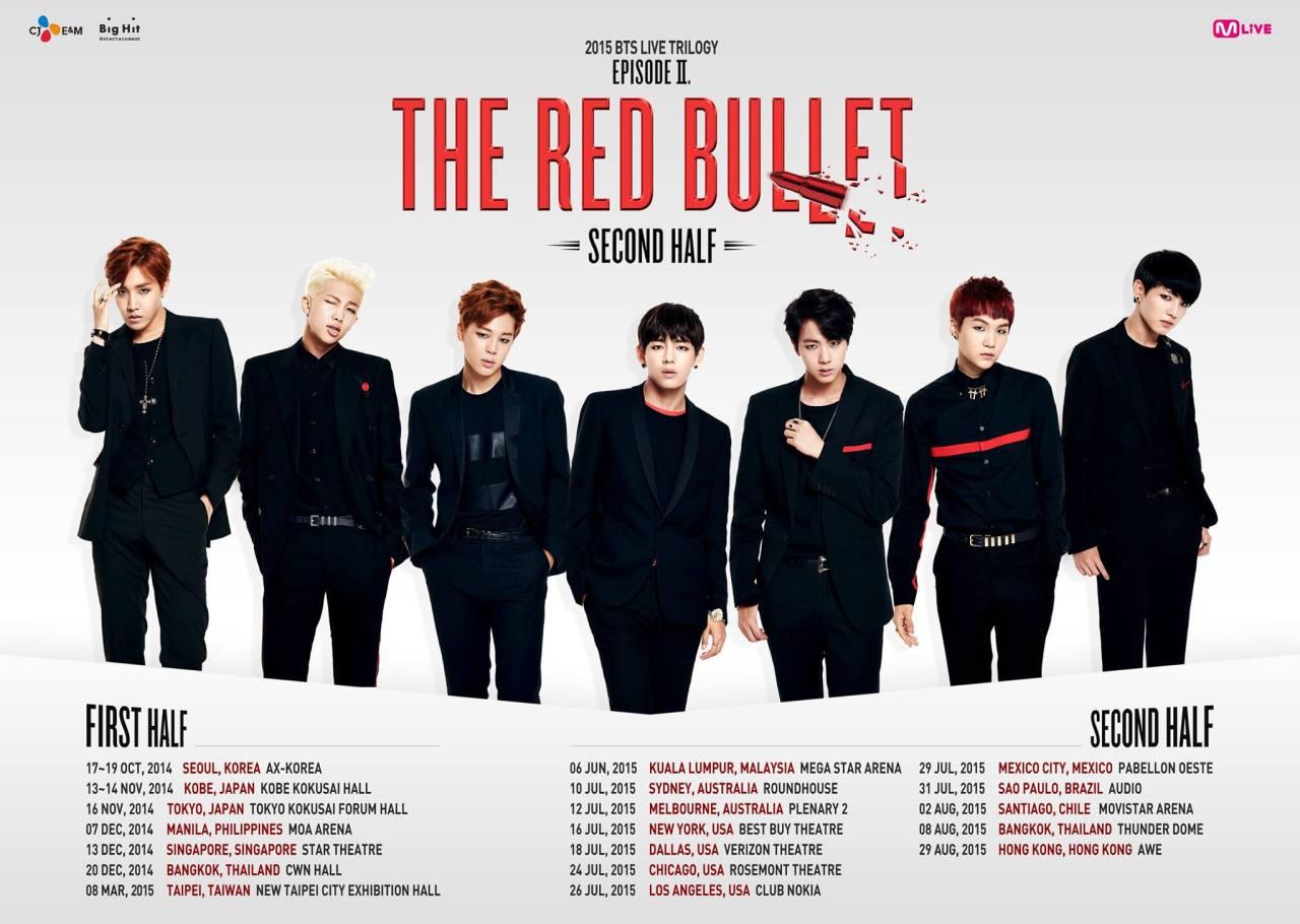 Bts Live Trilogy Episode Ii The Red Bullet Bts Wiki Fandom