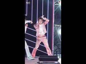 -BANGTAN BOMB- 'Dynamite' Stage CAM (Jin focus) @ 2020 AMAs - BTS (방탄소년단)