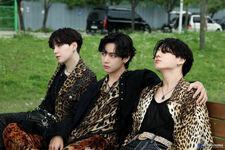 Suga, V and Jungkook BE Shoot