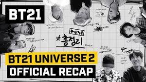 BT21 BT21 UNIVERSE 2 Official Recap