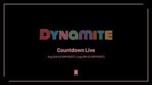 BTS (방탄소년단) 'Dynamite' Countdown Live ( ENG)