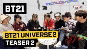 BT21 BT21 UNIVERSE 2 - TEASER 2