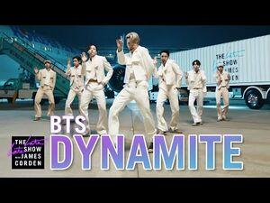BTS- Dynamite
