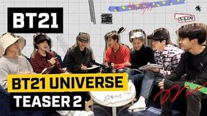 BT21 BT21 UNIVERSE - TEASER 2