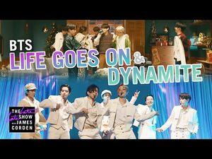 BTS- 'Life Goes On' & 'Dynamite' -- Full Video
