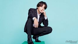 Jungkook The Hollywood Reporter Magazine Oct 2019