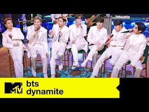 BTS Performs 'Dynamite' - MTV Unplugged Presents- BTS