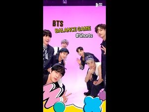 -PREVIEW- BTS (방탄소년단) 'Permission to Dance' Balance Game -Shorts