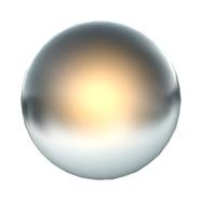 Gardnerian silver sphere