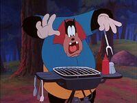 Pete loses his steak