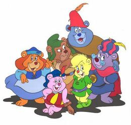 The six titular characters.