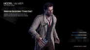 Sebastian Castellanos with trench coat model viewer (up close)