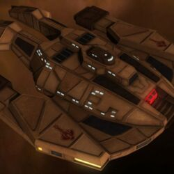 Cardassian starships