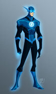 The Flash Blue Lantern Corps Profile Pic
