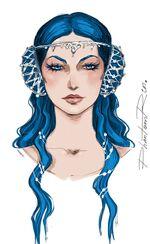 Nicasia portrait by PhantomRin