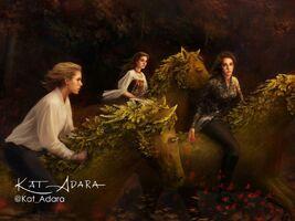 Jude, Taryn and Vivi by Kat Adara