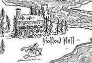 Map of Hollow Hall