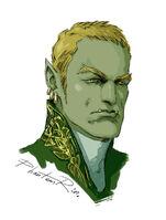 Madoc portrait by PhantomRin