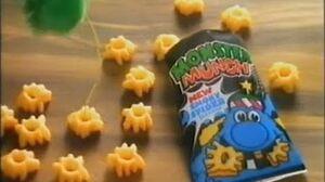 1993 Monster Munch Crisps Spooky Spider Flavour Advert