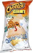 Cheetos Giant White Cheddar Snowballs