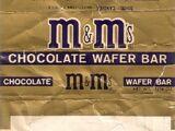M&M's Wafer Bar