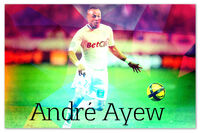 Andre Ayew Art Bad Quality