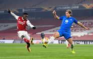 Arsenal v Molde (Europa League 2020-21).3