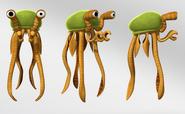 Squibbon character design