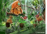 Futuroscope jungle