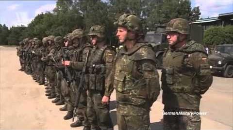 German Military Power Demonstration