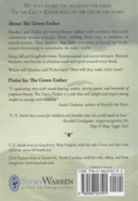 The Green Ember back cover